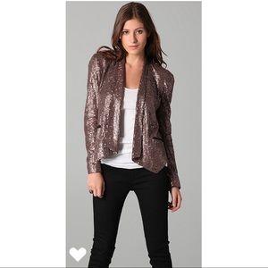 Rebecca Minkoff Becky Sequined Blazer/Jacket